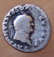 VESPASIEN Denier +78 Rome MODIUS - 2. Les Flaviens (69 à 96)