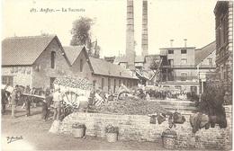 Dépt 76 - AUFFAY - La Sucrerie - (betteraves à Sucre) - Éditeur : Marchand N° 483 - Auffay