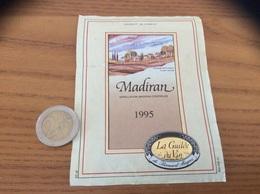 étiquette De Vin «MADIRAN - La Guilde Du Vin - Bernard Magrez» 1995 - Madiran