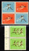 R272 - PAPUA NUOVA GUINEA 1962 ,serie Yvert N. 50/52  ***  MNH Sport - Papua Nuova Guinea