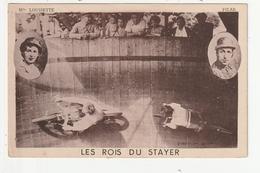 SPECTACLE MOTO VELO - LES ROIS DU STAYER - MLLE LOUISETTE ET PILAR - Spectacle