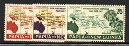 R510 - PAPUA NUOVA GUINEA 1962 ,serie Yvert N. 47/49  ***  MNH - Papua Nuova Guinea