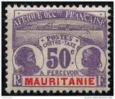Mauritanie (1906) Taxe N 14 * (charniere) - Mauritanie (1906-1944)