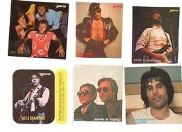 Stickers Autocollant 12 Stuks/pcs Artiesten Artists International Vedettes - Vignettes Autocollantes