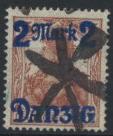 Danzig 28II O Korkstempel - Danzig
