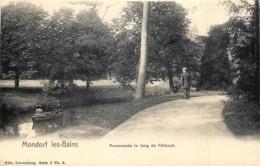 Luxembourg - Mondorf-les-Bains - Promenade Le Long De L' Albach - Nels Série 3 N° 6 - Mondorf-les-Bains