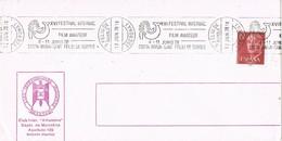30316. Carta SAN FELIU De GUIXOLS (Gerona) 1978. CINE Film Amateur Costa Brava, Cinema, Film - 1931-Hoy: 2ª República - ... Juan Carlos I