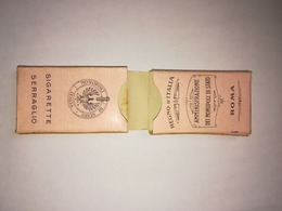 BUSTINA DOPPIA SIGARETTE SERRAGLIO 1929 EMPTY CIGARETTE PACK - Schnupftabakdosen (leer)