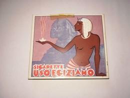 RARISSIMO ASTUCCIO SIGARETTE USO EGIZIANO 1928 EMPTY CIGARETTE PACK - Schnupftabakdosen (leer)