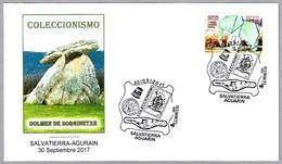 Coleccionismo - DOLMEN DE SORGINETXE. Salvatierra-Agurain, Alava, Pais Vasco, 2017 - Prehistoria