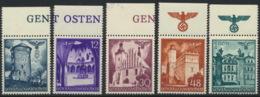 Generalgouvernement 66/70 Oberrand ** Postfrisch - 1939-44: 2. WK