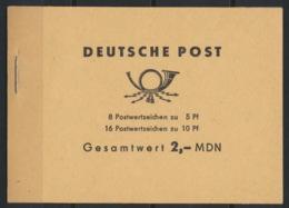DDR Markenheftchen 4b ** Postfrisch - DDR