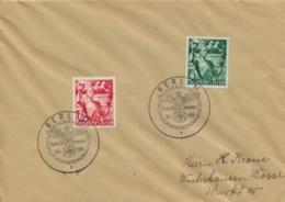 Deutsches Reich 660/61 Auf Brief Sonderstempel - Briefe U. Dokumente