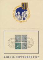 Gemeinschaftsausgaben 1/2 HBl. 123 Auf Klappkarte P�dagischer Kongress 1947 - DDR
