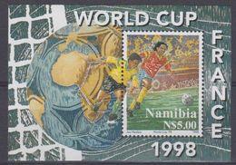 Namibia 1998 World Cup Football France M/s ** Mnh (41109) - Namibië (1990- ...)