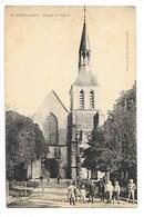 MONTIER En DER  (cpa 52)  Façade De L'église  -   L 1 - Montier-en-Der