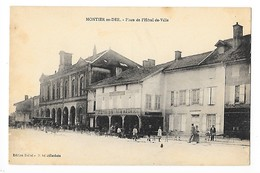 MONTIER En DER  (cpa 52)  PLace De L'Hôtel De Ville-   L 1 - Montier-en-Der