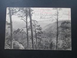 AK 1904 Ilsenburg Am Harz Blick Auf Den Brocken Von Den Westernklippen. Es Grünt Die Tanne... - Ilsenburg