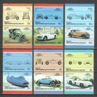 Bequia - Grenadines St Vincent 1986 Mi 160-171 MNH CARS AUTO - Cars