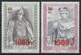 Polen 3315/16 ** Postfrisch - 1944-.... Republik