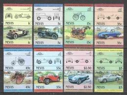 Nevis 1984 Mi 148-163 MNH CLASSIC CARS - Cars