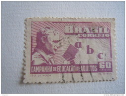 Brazilie Bresil Brasilien Brasil 1949 Campagne Pour L'instruction Des Adultes Yv 475 O - Brésil
