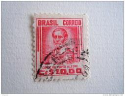 Brazilie Bresil Brasilien Brasil 1947-55 Serie Courante Comte De Porto Alegre Yv 468B O - Brésil
