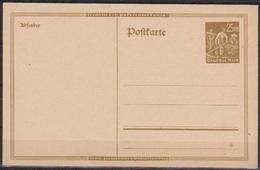 DR Ganzsache 1923 MiNr.P I Zur Ausgabe Vorbereitet, Jedoch Nicht Ausgegeben  ( PK 68 ) Günstige Versandkosten - Stamped Stationery