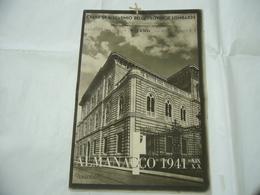 WW2 CALENDARIO ALMANACCO 1941 CASSA DI RISPARMIO PROVINCIE LOMBARDE MILANO - Calendari