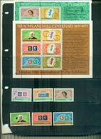 S.VINCENT LONDON 80 -100 R.HILL 6 VAL + 2 BF NEUFS A PARTIR DE 0.75 EUROS - St.Vincent (1979-...)