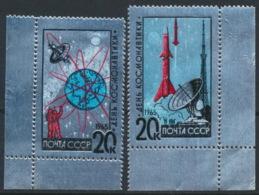 Sowjetunion 3042/43 Eckrand ** Postfrisch - Ungebraucht