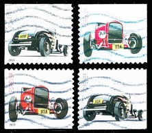 Etats-Unis / United States (Scott No.4908-09 - Hot Rod) (o) P2 - Used Stamps