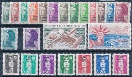 CD-564: ST PIERRE ET MIQUELON: Lot** Avec 455/469-470/471-514/520 - St.Pierre & Miquelon