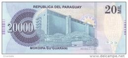 PARAGUAY P. 230c 20000 G 2011 UNC - Paraguay