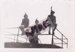 PHOTO ANCIENNE SITUEE AU DOS,23 AOUT 1938,TABLE D'ORIENTATION DU GRAND BALLON,HAUT RHIN,ENFANTS,SCOUT,RARE - Plaatsen