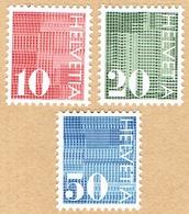 ** LA SERIE TIMBRES NEUFS 1970. C/.S.B.K. Nr:483/485. Y&TELLIER Nr:861/863. MICHEL Nr:933/935. ** - Suisse