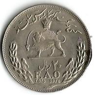 1 Pièce De Monnaie 20 Rials 1978 FAO - Iran