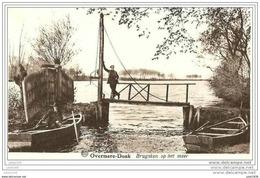 OVERMEIRE ..-- 1955 Vers BRUXELLES ( Mr Mme THIRY ) . Voir Verso .  Brugsken Op Het Meer . - Berlare