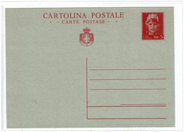 "CTN54A- ITALIE LIEUTENANCE EP CP ""TURRITA SENZA STEMMA""  NEUVE SPLENDIDE COTE EUR 500.00 - 5. 1944-46 Lieutenance & Umberto II"