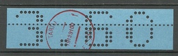 Estland Estonia 1991 Tartu Dorpat Lochstreife Local Perfo Stripe Blau 3.60 MNH - Estonia
