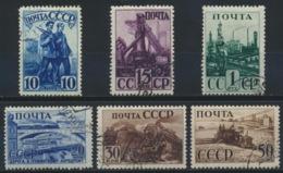 Sowjetunion 786/92 Ohne 791 O - Gebraucht
