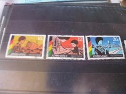ZIMBABWE TIMBRE OU SERIE YVERT N°109.111 - Zimbabwe (1980-...)