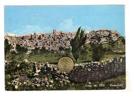 Enna Panorama  Viaggiata  Con Bollo 1961 - Enna