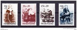 Nederland 1974 Nr 1010/13 **, Zeer Mooi Lot Krt 3250 - Francobolli