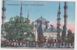TURKEY - CONSTANTINOPLE, MOSQUE SULTAN BAYAZID - Turchia