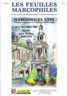 LES FEUILLES MARCOPHILES N° 295 SUPPLEMENT MARCOPHILEX XXIII ROUEN - Littérature