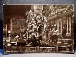 (FG.M12) ROMA - PIAZZA NAVONA - FONTANA DEI QUATTRO FIUMI (NV) - Places & Squares
