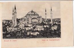 TURKEY - CONSTANTINOPLE, MOSQUEE ST.SOPHIE , OESTERREICHISCHE POST OFFICE 10 PARA - Turchia