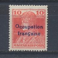 Hongarije/Hungary/Hongrie/Ungarn Arad Fr. Occ. 1919 Mi: 26 Yt: 23 (Ongebr/MH/Neuf Avec Ch/Ungebr/*)(3847) - Hongarije