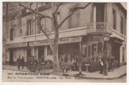 ° 34 ° MONTPELLIER ° RUE DU PONT JUVENAL ° SPORTING BAR ° BIERE TOURTEL ° - Montpellier